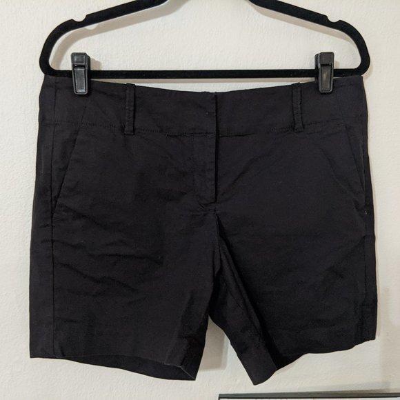 Ann Taylor Black Dress Shorts (10)